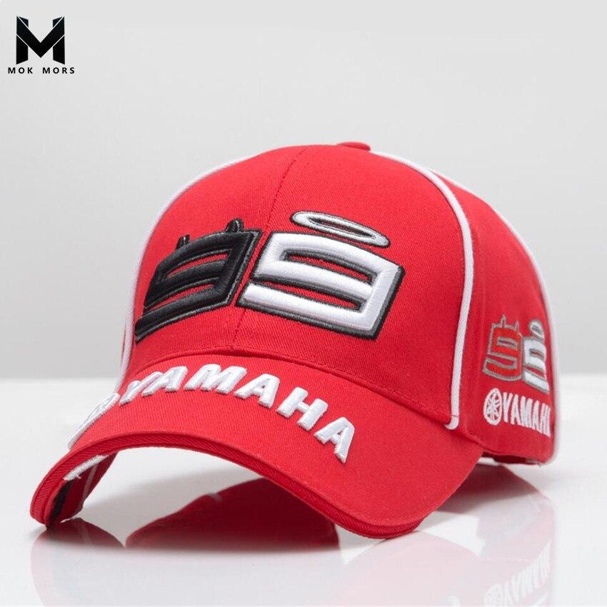 2018 haute qualité MOTO GP 99 MOTO 3D brodé F1 casquette de course hommes femmes Snapback casquettes Rossi 99 casquette de Baseball YAMAHA chapeaux