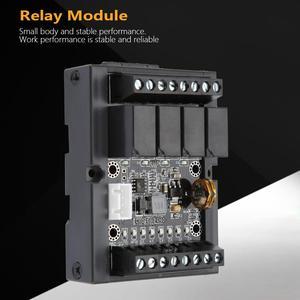 Image 3 - FX1N 10MR وحدة تحكم منطقية قابلة للبرمجة PLC لوحة تحكم الصناعية مع قذيفة تيار مستمر 10 28 فولت