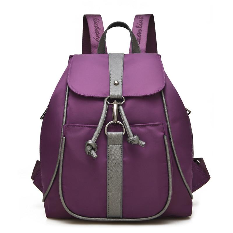 2017 personality fashion backpacks travel women s Backpack school bags for teenagers mochila escolar waterproof nylon