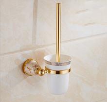 Туалет Кисточки держатель позолоченные Товары для ванной со