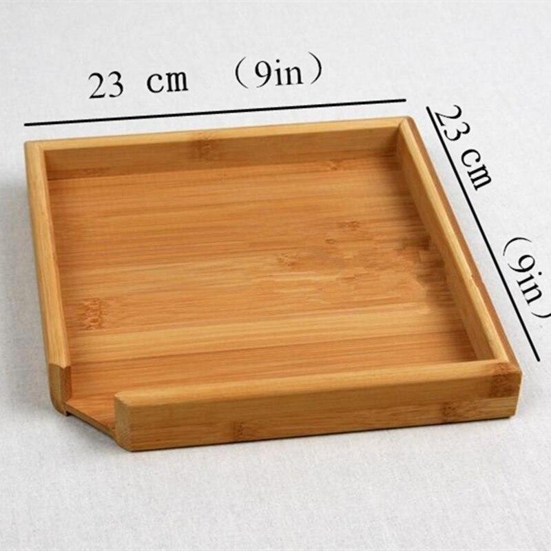 Rectangular Bamboo Tea Tray 2