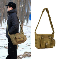 Protector Plus 14 Inches Outdoor Sport Computer Laptop Bags Military Tactical Waterproof Messenger Shoulder Backpack Rucksacks