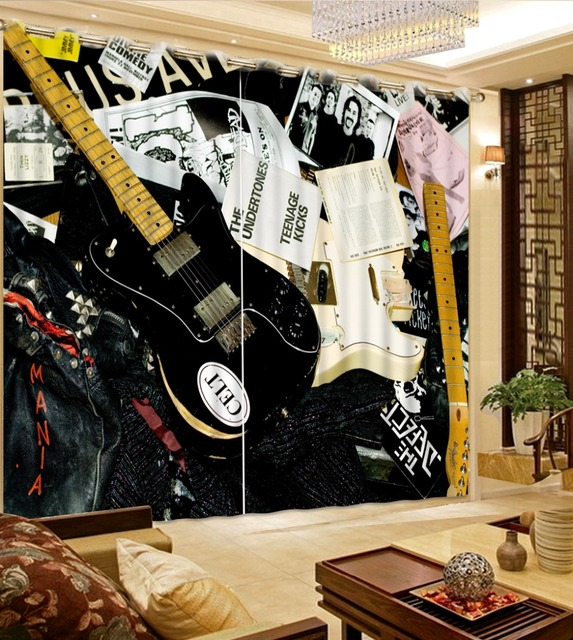 € 47.73 56% de réduction Moderne Classique Rideau Personnalisé Tissu 3D art  Rideaux Blackout salon Rideaux Belle Classique Fenêtre Rideau dans Rideaux  ...