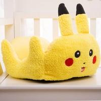 Funny Pokemon Small Pet Dog Cat Sofa Bed House Kennels Cartoon Pikachu Winter Warm Soft Fleece