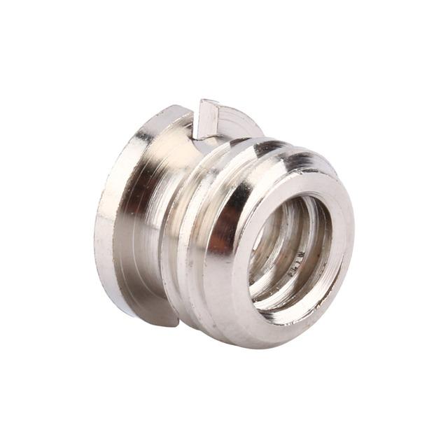 1/4″-1/4″ Screw Male to Male Metal Adapter Screw 1/4″ Male Threaded to 1/4″ 3/8 Male Threaded Screw Photo Studio Accessories New