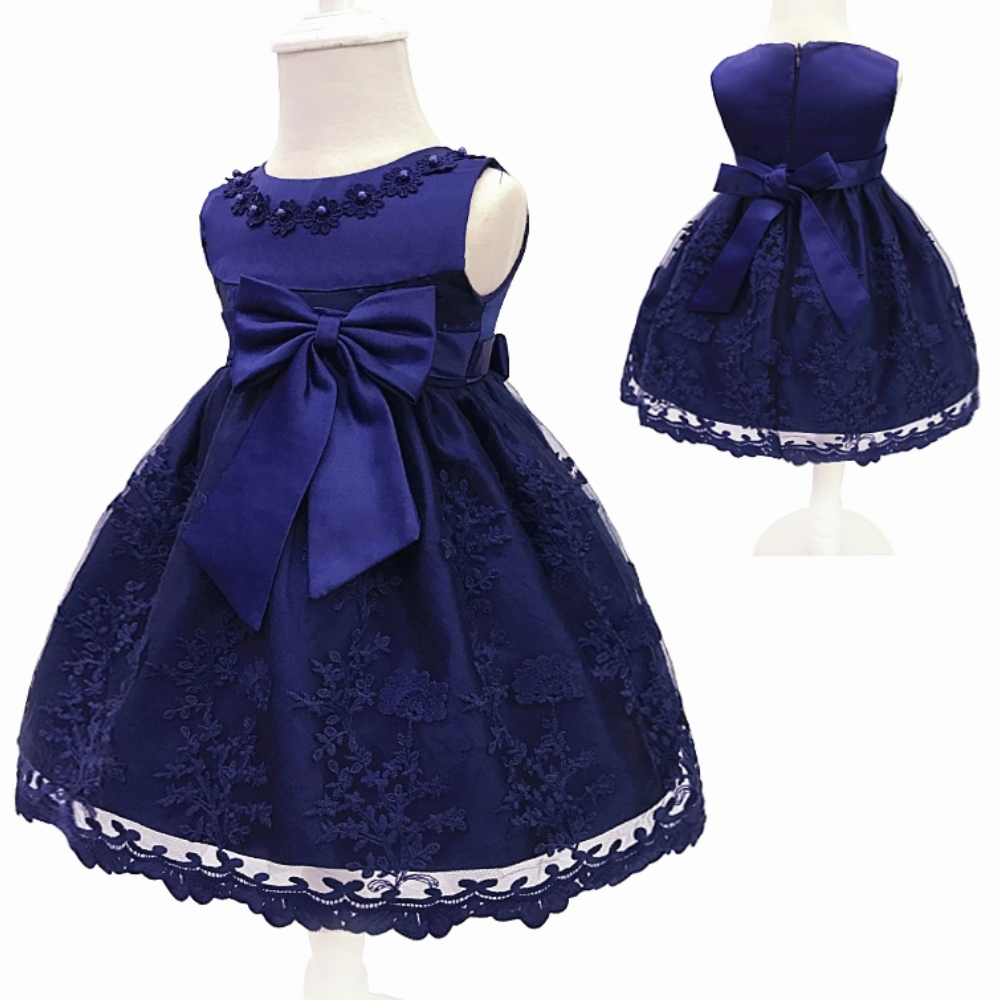 41462c3509ba Free Shipping Cotton Lining Infant Dresses Lace 2018 New Arrival Red Baby  Dress For 1 Year Girl Birthday Bow Party Gown Toddler-in Dresses from  Mother ...
