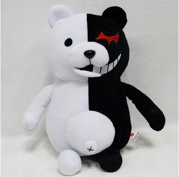 70 cm High giant Doll Mono Kuma Danganronpa Monokuma mono bear plush Black White Bear Stuffed Plush Toy big birthday Animal toy