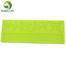 Butterfly Silicone Mold Flower Cake Lace Mat DIY Cupcake Sugar Wedding Decoration Fondant Baking Tools For Cakes