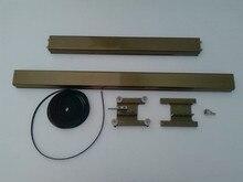 Small wheels car wheel rail belt plotter accessories special laser engraving machine
