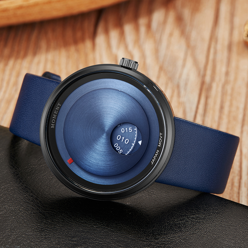 Turntable Watch Men Women Unique Couple Wrist Watches Lover Gift Clock Creative Dial Wristwatch Casual Male Female Quartz Clock