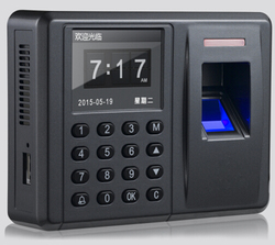 Secukey Direct Fabriek TCP, multi-language, RFID + Toetsenbord + Vingerafdruk Toegangscontrole & Tijdregistratie