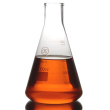 1000 мл, стеклянная колба Erlenmeyer, 1л, лабораторная коническая бутылка, нормальная горловина, узкий рот