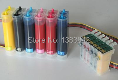 ФОТО Free shipping High quality CISS with Sublimation ink for Epson photo 1400 CISS Ink System With New Combo ARC Chip