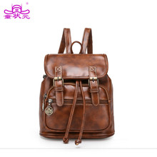 Sprayground рюкзак классический ретро Винтаж рюкзак женский кожаный шнурок женские PU большой Ёмкость сумка