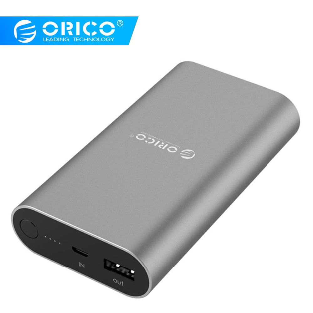 ORICO QS1 QC3.0 Power Bank 10050mA LG18650 High Capacity Universal Portable Quick Charger for Almost Smart Phones Battery bank|power bank|universal portable charger|portable charger - title=