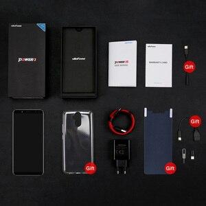 Image 5 - Ulefone güç 3S 4G LTE cep telefonu Android 7.1 MTK6763 Octa çekirdek yüz kimlik parmak izi akıllı telefon 6 inç 4GB + 64GB 6350mAh 16MP