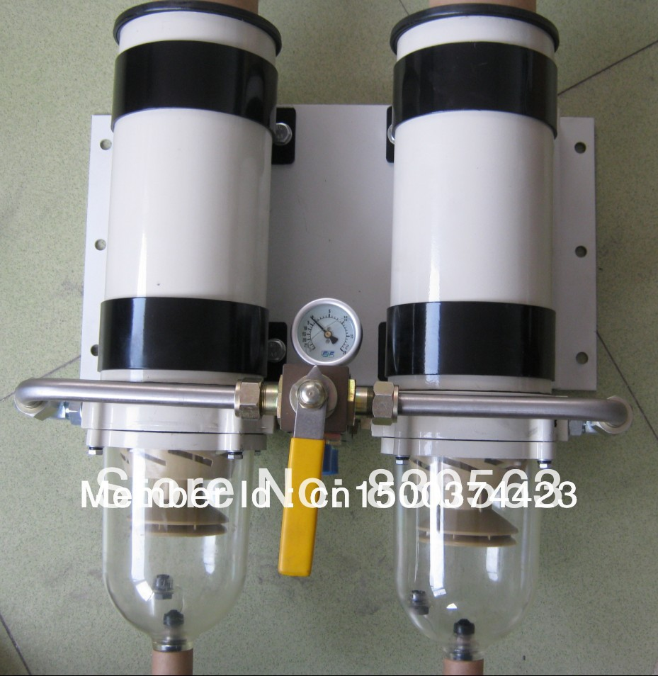 small resolution of free shipping 731000fhx dual 1000fh new 1000fg diesel engine fuel water separator assembly include racor 2020pm element