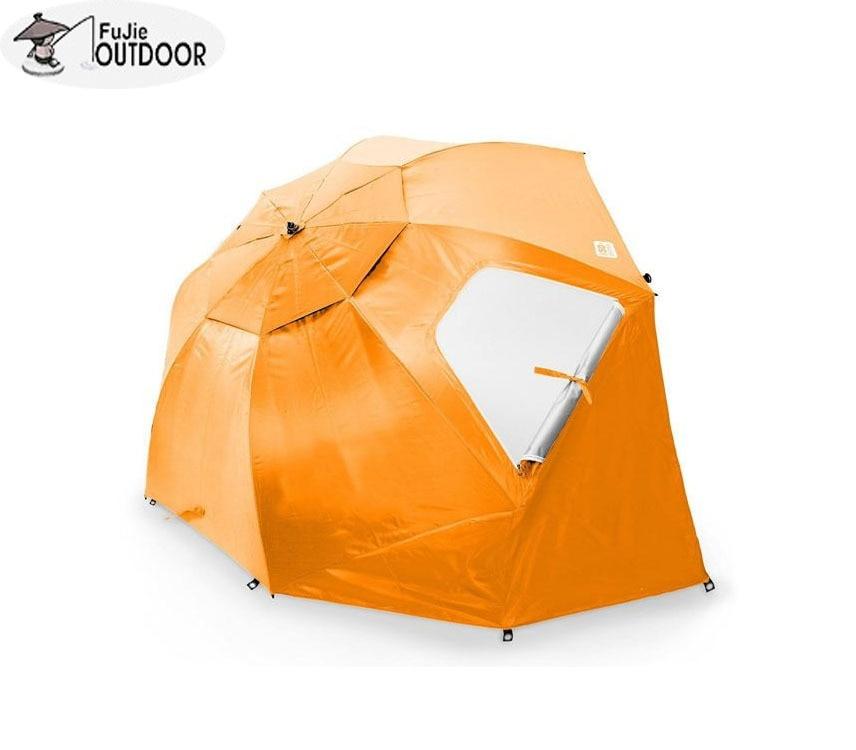 OEM custom outdoor fishing umbrella tent beach umbrella tents orange black green blue цены онлайн