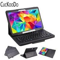 CucKooDo 10 unids/lote Teclas Caso Plástico ABS Teclado Bluetooth Inalámbrico Portátil Con Estilo Para Samsung Galaxy Tablet S 10.5 ''SM-T800
