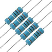 Best Price 50pcs resistor Pack 5.1 ohm 2W Metal Film Resistor Resistance 1% DIY Kit Free Shipping