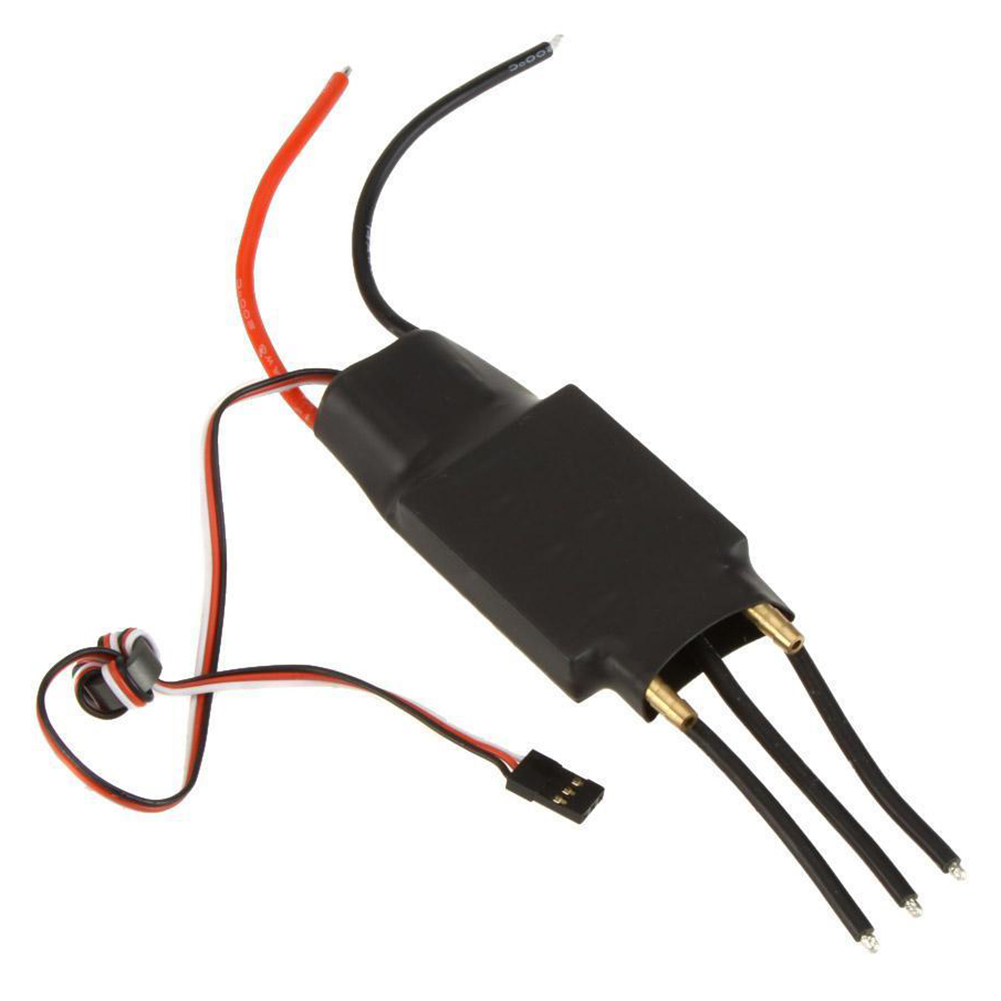 80A Brushless Water Cooling Speed Controller ESC with 5V/5A SBEC fr RC Boat I8H6 aluminum water cool flange fits 26 29cc qj zenoah rcmk cy gas engine for rc boat