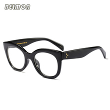 Eyeglasses Spectacle Frame Women Computer Prescription Myopia Optical For Female Vintage Eyewear Clear Lens Glasses Frame RS465