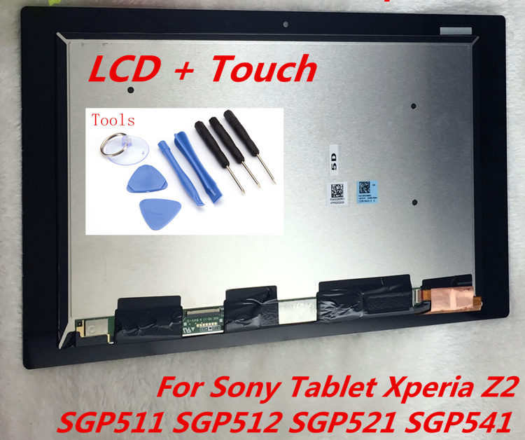 Sale Touch Screen LCD Assembly For Sony Xperia Tablet Z2 SGP511 SGP512 SGP521