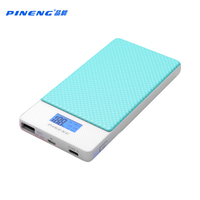 PINENG 10000mah Two Way Fast Charge Power Bank PN 993 QC3 0 Portable Battery Li Polymer