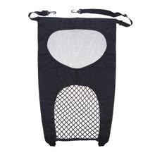 Pet Car Seat Barrier Mesh Obstacle Oxford Cloth Backseat Adjustable Divider Dog Supplies Dog Carriers Bags