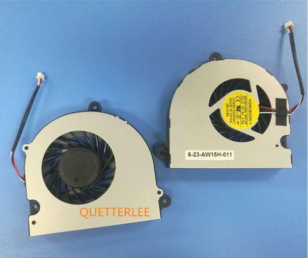 CPU Cooling Fan For Clevo W150 W150HRM W170 W170HR i7 CPU Earth P370 P370EM 6-23-AW15H-010 DFS5515GQ0T FAJD