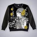 Бесплатная доставка аниме манга Kuroshitsuji черный дворецкий Ciel футболка толстовки мужчин 002