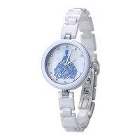 뜨거운 판매 KEZZI 최고 새로운 브랜드 세라믹 스트랩 여성 드레스 시계, 석영 아날로그 군사 시계 방수 시계 k1238