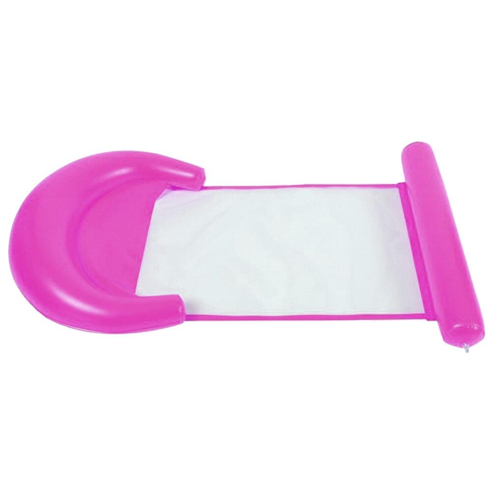 Надувной водяной гамак плавающий кресло-кровать стул Drifter бассейн из ПВХ пляж SMN88 - Цвет: Розовый