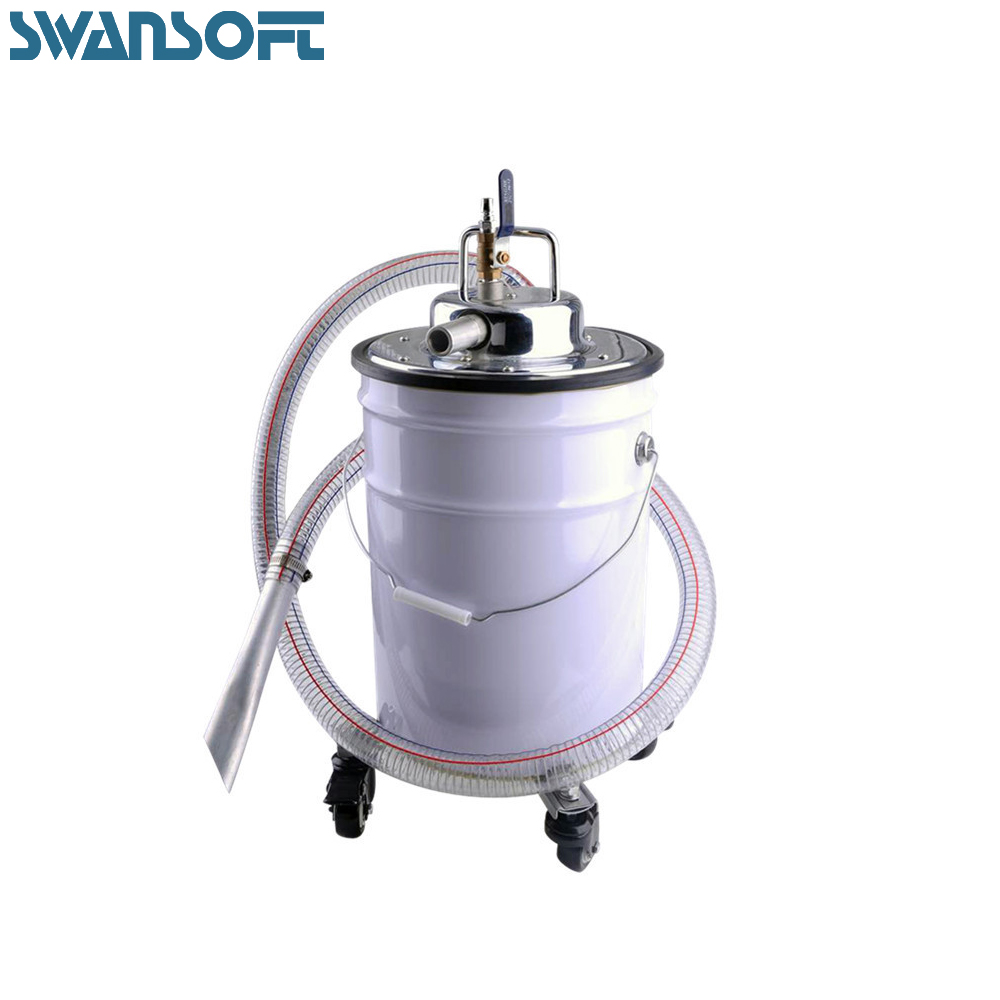 Explosion-proof pneumatic vacuum industrial vacuum cleaner factory gas source suction dust iron chip strong high-power vacuum cl