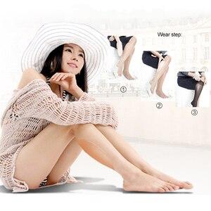 Image 4 - 1 Paar Slicone Been Kalf Pads Been Correctoren Voor Zachte Zelfklevende Voor Crooked Dunne Benen Body Beauty Corrector