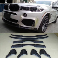 F15 X5 MP style Carbon Fiber front lip rear diffuser Rear Bumper Aprons Side Splitter for BMW F15 X5 M PERFORMANCE Bumper