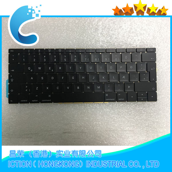 купить Original New A1708 Keyboard Icelandic Iceland for Apple Macbook 13.3