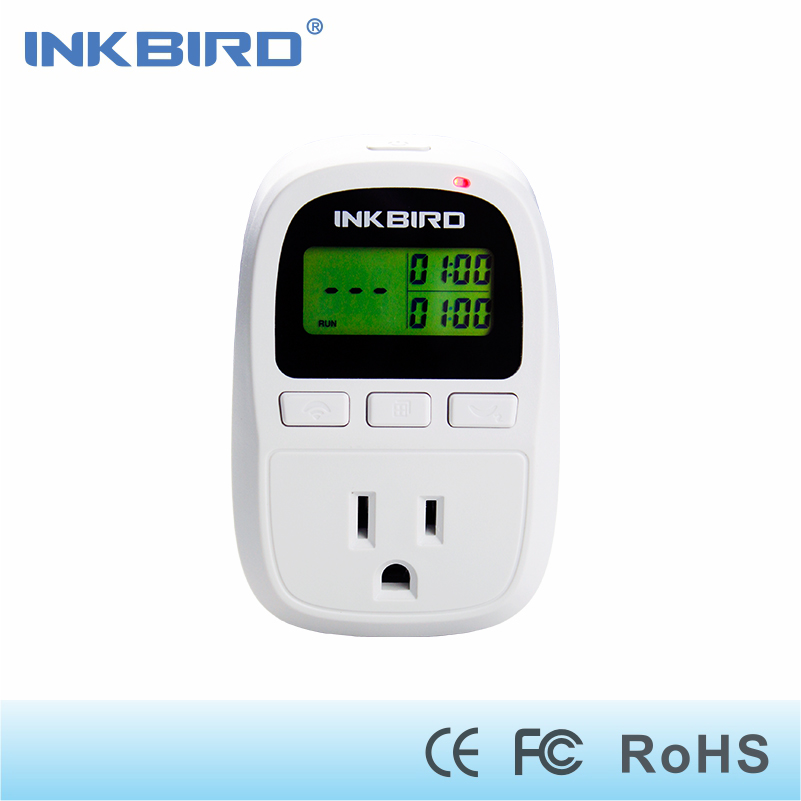 Inkbird C909 Digital Temperature & Humidity Controller- 1500W-110V- 4 Control Modes- C/F Display- Heating & Cooling Function digital indoor air quality carbon dioxide meter temperature rh humidity twa stel display 99 points made in taiwan co2 monitor