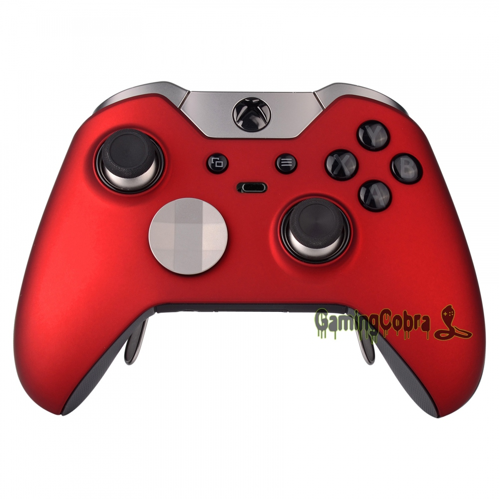 Front Shell Faceplate Cover Repair For Xbox One Elite Controller Soft Touch Red To Help Digest Greasy Food