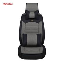 цена на HeXinYan Universal Flax Car Seat Covers for Volvo all models s60 s80 c30 v60 xc60 s40 v40 xc90 xc70 v50 v60 V70 auto styling