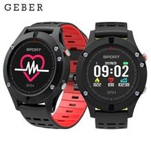цены GEBER Heart Rate Monitor GPS Multi-Sport Mode OLED Altimeter Bluetooth Fitness Tracker IP67 BRIM F5 Smartwatch Smart Wristband