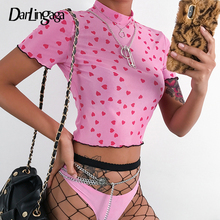 ca418802eb38b Buy transparent pink shirt and get free shipping on AliExpress.com