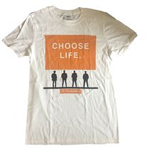 Trainspotting - T2 Choose Life - Official Mens T Shirt Short Sleeves Cotton Fashion T-Shirt Free Shipping Classic welsh i t2 trainspotting film tie in isbn 978 1784704735