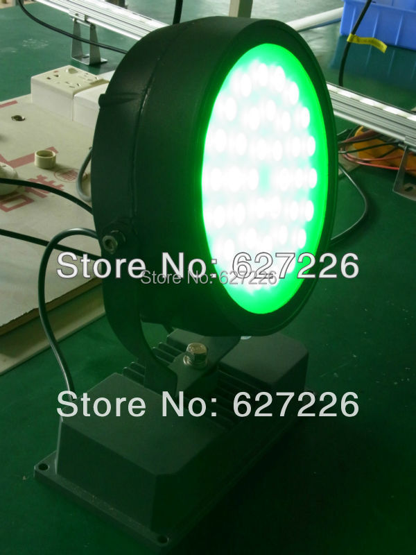 36W LED Flood Lights AC85-265V Outdoor Lighting IP65 Waterproof Cast light Red Blue Green Yellow White/Warm White LED Spotlights