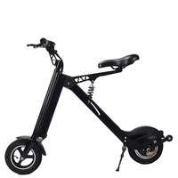 Folding Electric Bicycle Lithium Battery Portable Adult Substitute Car Mini Substitute Battery Car Electric Scooter