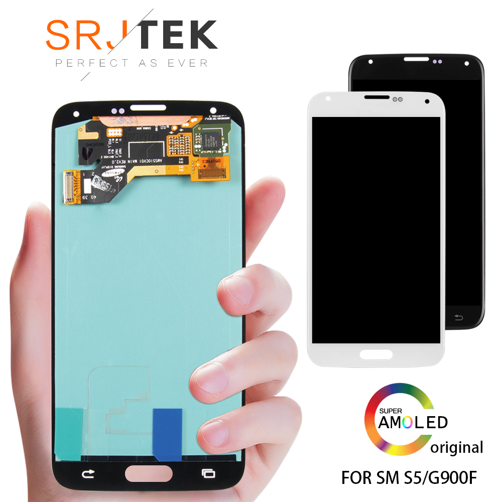 ②100% Super Amoled For Samsung Galaxy S5 Prime G906S G906L G906K LCD Display  Screen Touch Digitizer Assembly - a684