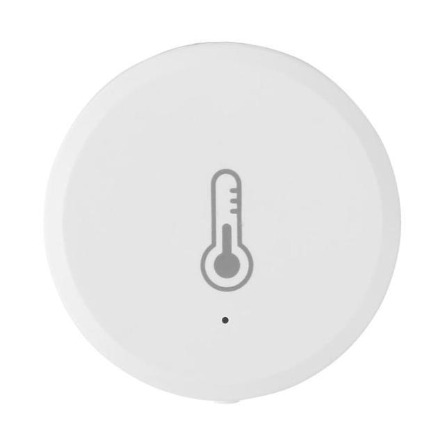 Tuya Температура и влажности Сенсор сигнализации Системы устройств для Amazon Alexa Температура и влажности детектор внутренней безопасности рек...