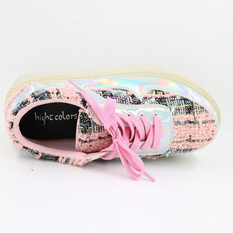 15 Silver Nouveau Hc168 41 Argent Automne Pour forme Rose Printemps Taille Femmes Plat 34 La En Détail 2018 Pink Plate Chaussures Femme Plus Mode Gros Au IxBtgwSq0n