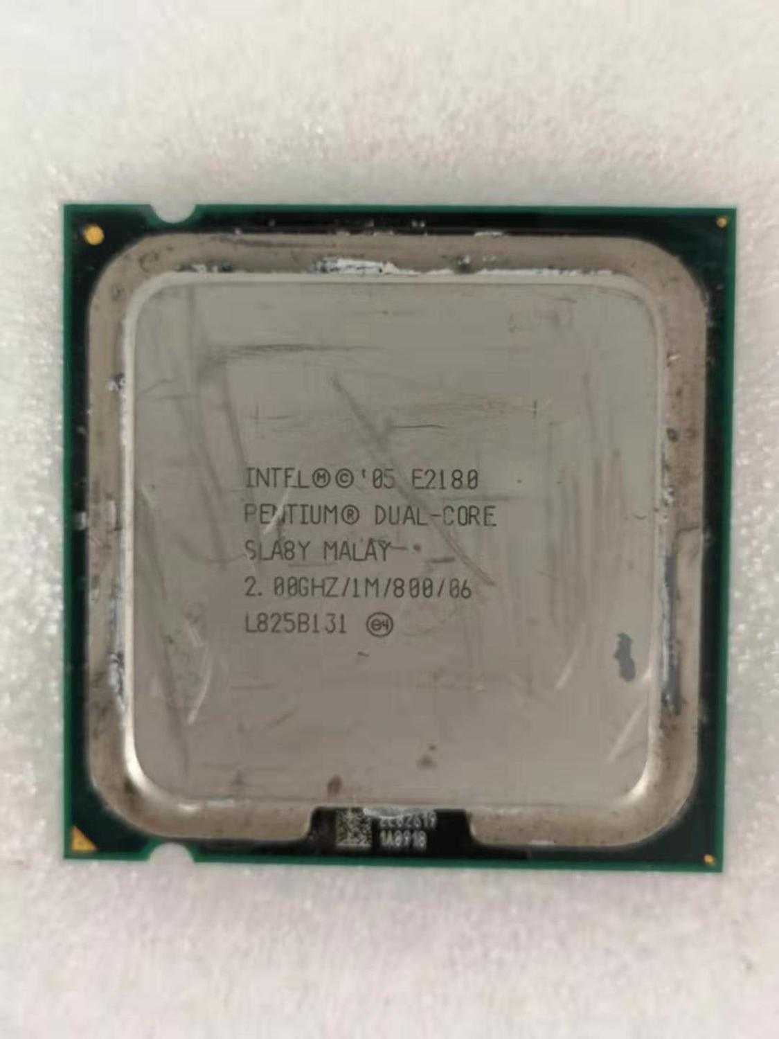Intel Core 2 Duo E2180 Desktop Processor Dual-Core 2.0GHz 1MB Cache FSB 800MHz LGA 775 E 2180 Used CPU