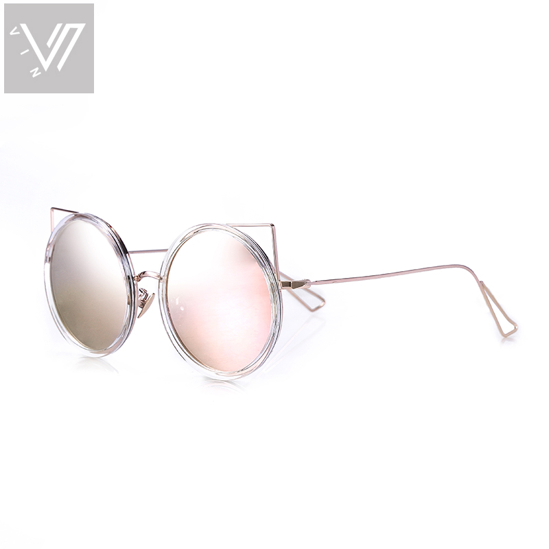 Oculos De Sol Feminino Gafas Mujer Round Sunglasses Women Brand Designer Sunglass Glasses Vintage Lentes Lunette De Soleil Femme